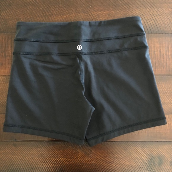 lululemon athletica Pants - Lululemon Black Biker Shorts